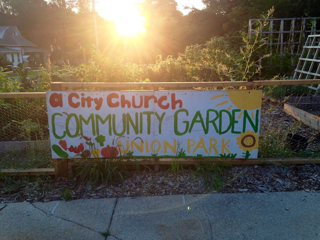 Union Park Church Community Project Seeks to Grow, Cultivate Relationships